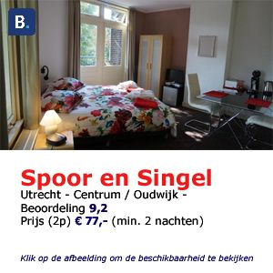 bed and breakfast utrecht tussen spoor en singel