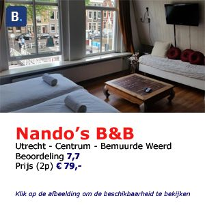 bed and breakfast utrecht Nando