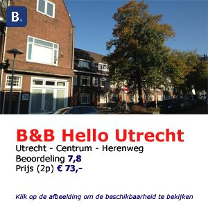 bed and breakfast utrecht hello