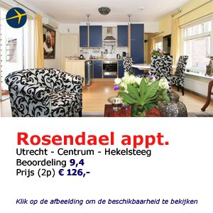 bed and breakfast utrecht rosendael appartement